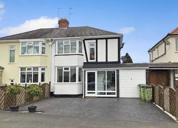 Thumbnail 3 bed semi-detached house for sale in Aldersley Avenue, Tettenhall, Wolverhampton