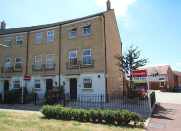 Thumbnail 4 bedroom end terrace house for sale in Alabaster Avenue, Houghton Regis
