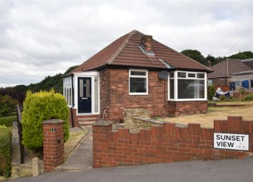 Thumbnail 2 bed detached bungalow for sale in Sunset View, Leeds, West Yorkshire