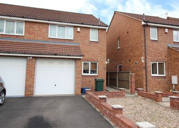 Thumbnail 3 bed semi-detached house to rent in Kieran Close, Dinnington, Sheffield, South Yorkshire