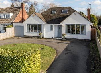 Thumbnail 3 bed detached bungalow for sale in Leicester Lane, Leamington Spa