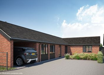 Thumbnail 3 bed detached bungalow for sale in Plot 4 The Hawthorn, Oakland Mews, Strumpshaw