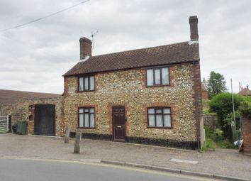 Thumbnail 3 bed detached house for sale in Back Lane, Wymondham