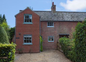 Thumbnail 3 bed semi-detached house for sale in Hall Lane, Gunthorpe, Melton Constable