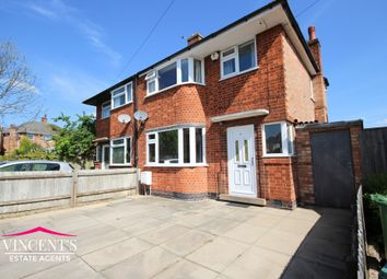 Thumbnail 3 bed semi-detached house for sale in Stratford Road, Leicester