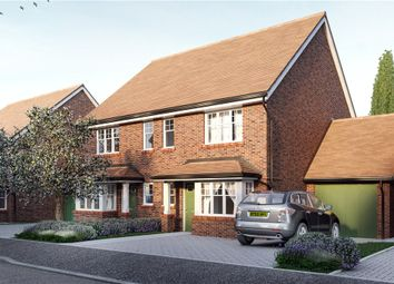 Thumbnail 3 bed semi-detached house for sale in Ively Road, Fleet