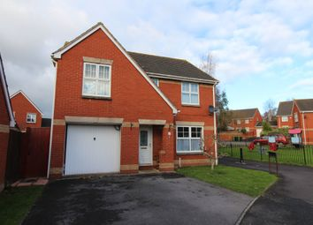Thumbnail 4 bed detached house to rent in Knights Crescent, Exeter, Devon