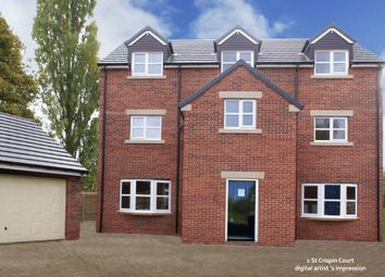 Thumbnail 5 bed property for sale in St Crispin Court, Plot 1, Ashgate Road, Ashgate, Chesterfield, Derbyshire