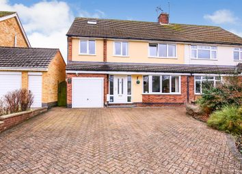 Thumbnail 4 bed semi-detached house for sale in Shakespeare Gardens, Bilton, Rugby
