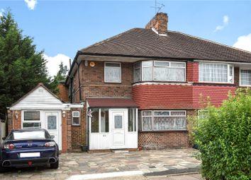 Thumbnail 4 bed semi-detached house for sale in Cheyneys Avenue, Edgware, London