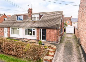 Church Street, Dunnington, York YO19. 3 bed semi-detached bungalow for sale