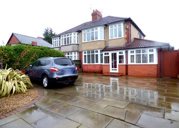 Thumbnail 4 bed semi-detached house for sale in Huyton Lane, Huyton, Liverpool