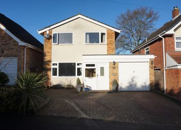 Thumbnail 3 bed detached house for sale in Vernon Close, Four Oaks, Sutton Coldfield