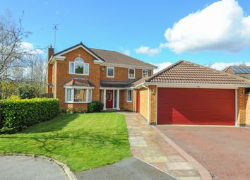 Thumbnail 4 bed detached house for sale in Glebe View, Barlborough, Chesterfield