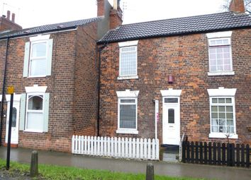 Thumbnail 2 bedroom cottage for sale in West Parade, Leads Road, Hull