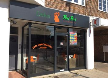 Thumbnail Restaurant/cafe for sale in Goring Road, Goring-By-Sea, Worthing