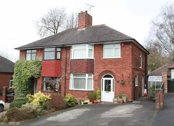 Thumbnail 3 bed semi-detached house for sale in Bramfield Drive, Newcastle-Under-Lyme