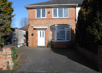Thumbnail 3 bed semi-detached house for sale in York Road, Hall Green, Birmingham