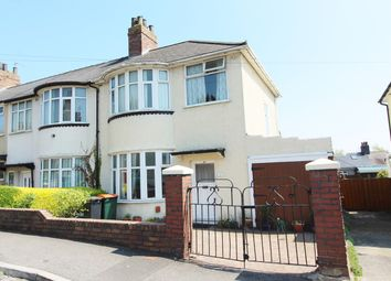 Thumbnail 3 bed end terrace house for sale in Lyndhurst Avenue, Newport