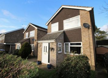 Thumbnail 3 bed detached house for sale in Elm Close, Mulbarton, Norwich