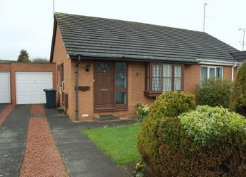Thumbnail 2 bed semi-detached bungalow for sale in Eland Edge, Ponteland, Newcastle Upon Tyne