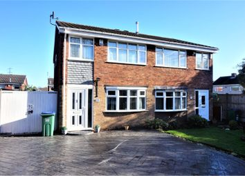 Thumbnail 3 bed semi-detached house for sale in Millersdale Drive, West Bromwich