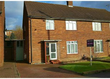Thumbnail 3 bedroom semi-detached house for sale in Eaton Valley Road, Luton