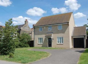 Thumbnail 4 bed detached house to rent in Eriswell Road, Lakenheath, Brandon