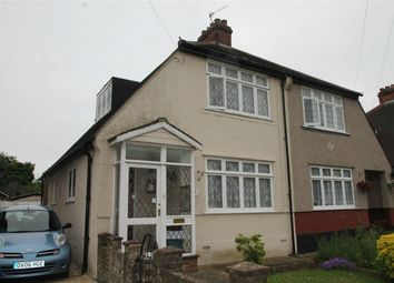 Thumbnail 2 bed semi-detached house for sale in Links View Road, Shirley, Croydon, Surrey