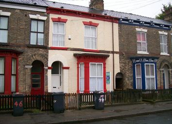 Thumbnail 5 bedroom terraced house for sale in Berkeley Street, Hull