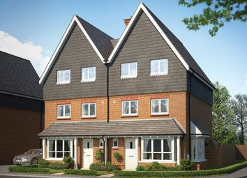 Thumbnail 4 bedroom semi-detached house for sale in Tadpole Rise, Tadpole Garden Village, Swindon