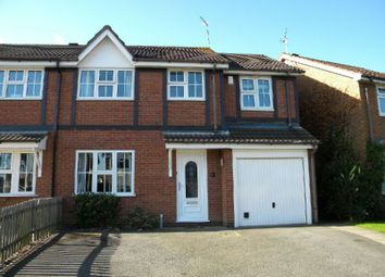 Thumbnail 4 bed semi-detached house for sale in Browns Way, Whetstone, Leicester