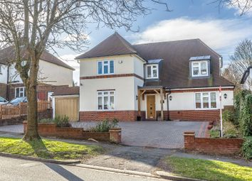 Thumbnail 4 bed detached house for sale in Green Curve, Banstead
