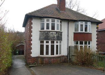 Thumbnail 2 bedroom property to rent in Gordon Drive, Meanwood, Leeds