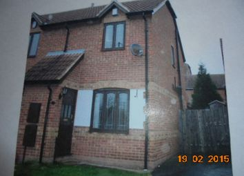 Thumbnail 2 bedroom semi-detached house to rent in North End Drive, Harlington, Doncaster