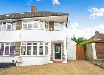 Thumbnail 3 bed semi-detached house for sale in Borkwood Way, Orpington, Kent