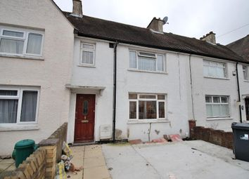 Thumbnail 3 bed terraced house for sale in Dryden Avenue, Hanwell, London
