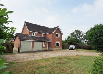 Thumbnail 4 bed detached house for sale in Norwich Road, Besthorpe, Attleborough