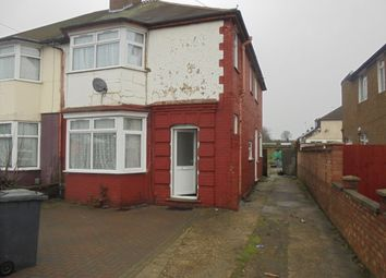 Thumbnail 3 bed semi-detached bungalow to rent in Leagrave Road, Luton