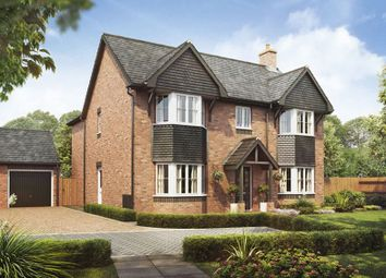 Thumbnail 4 bed detached house for sale in Plot 13, The Oak, Barley Fields, Uttoxeter