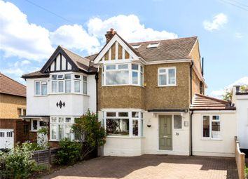 Thumbnail 4 bed semi-detached house for sale in Chumleigh Walk, Surbiton