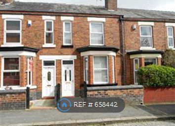 Thumbnail 4 bed terraced house to rent in Buxton Avenue, Crewe