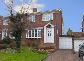 Thumbnail 3 bed semi-detached house for sale in The Avenue, Billericay