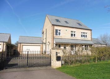 Thumbnail 5 bed detached house for sale in Deeping St James Road, Northborough, Peterborough