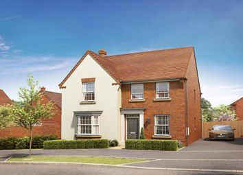 "Thumbnail 4 bed detached house for sale in ""Holden"" at Tingewick Road, Buckingham"