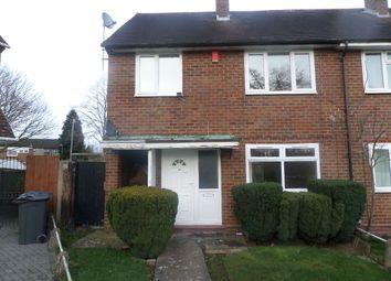 Thumbnail 3 bedroom semi-detached house to rent in Corfe Close, Birmingham