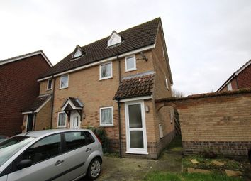 Thumbnail Maisonette to rent in Yew Tree Road, Attleborough