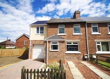 Thumbnail 3 bed semi-detached house for sale in Davis Crescent, Langley Park, Durham