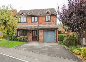Thumbnail 4 bed detached house for sale in Sparrowbusk Close, Barlborough, Chesterfield
