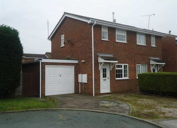 Thumbnail 2 bedroom semi-detached house to rent in Earls Court, Burton On Trent, Staffordshire